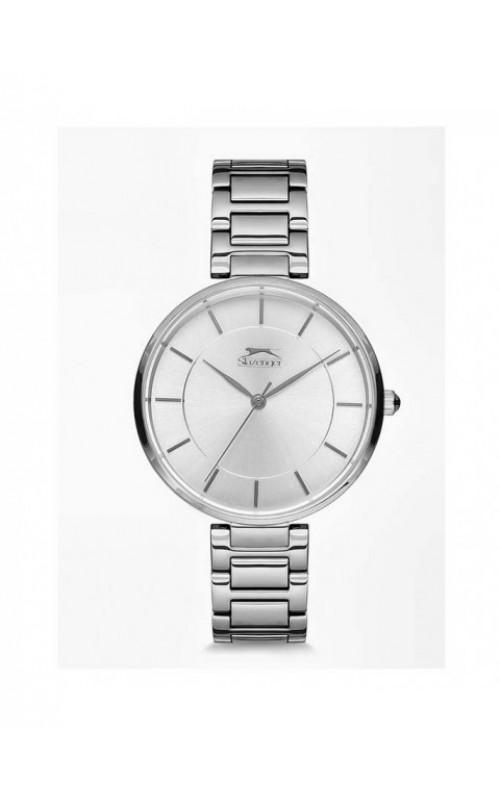 SLAZENGER Ladies Silver Stainless Steel Bracelet SL.09.6108.3.01