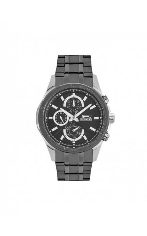 SLAZENGER Grey SS Bracelet SL.09.6214.2.02