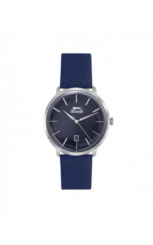 SLAZENGER Blue Leather Strap SL.09.6221.1.04