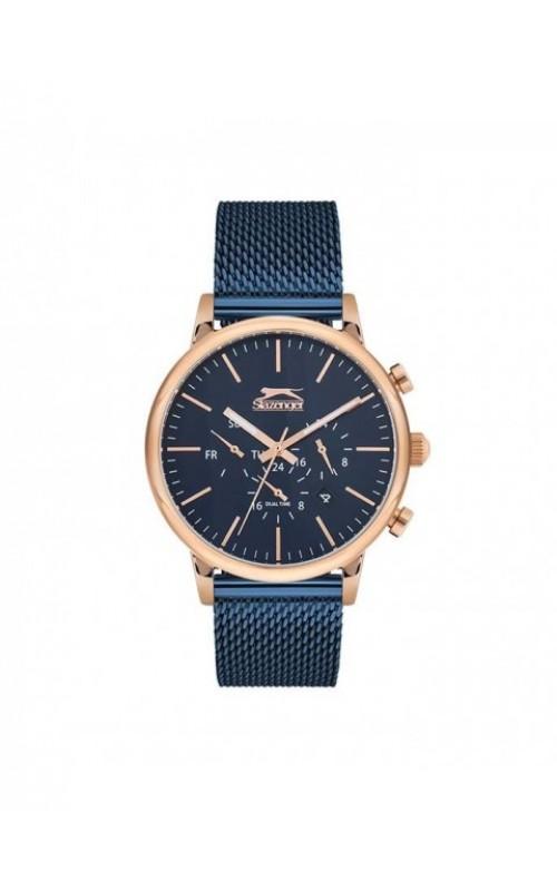 SLAZENGER Blue SS Mesh Bracelet SL.09.6254.2.03