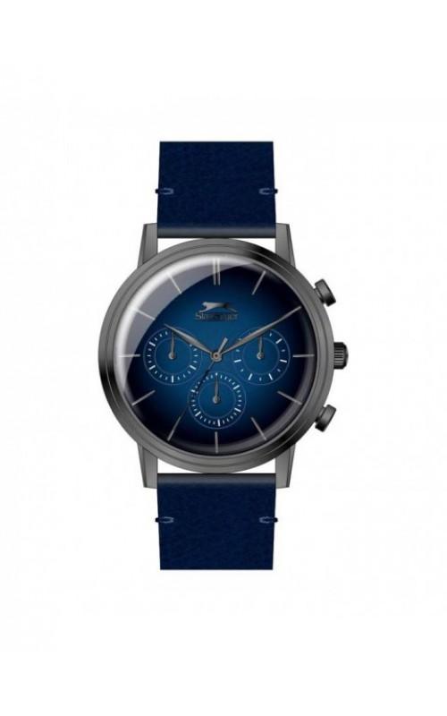 SLAZENGER Blue Leather Strap SL.09.6293.2.02
