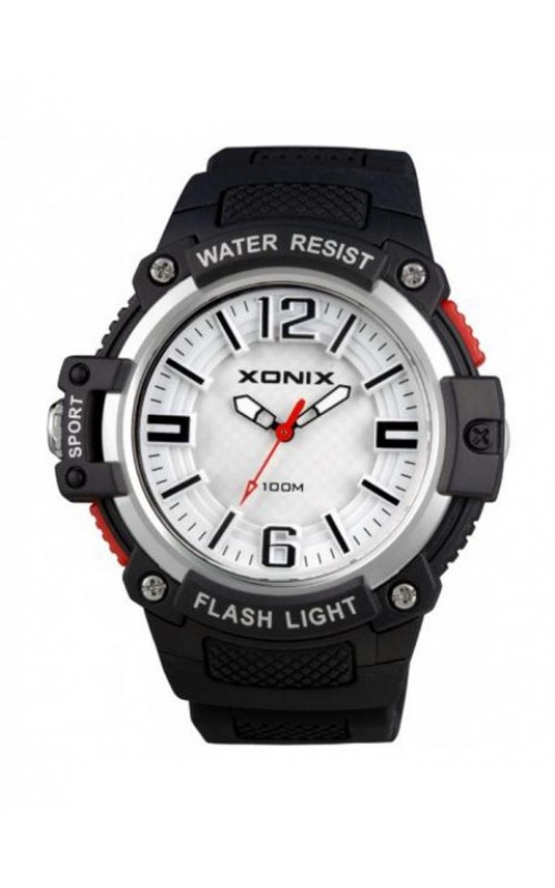 XONIX Black Silicone Strap CAB-006