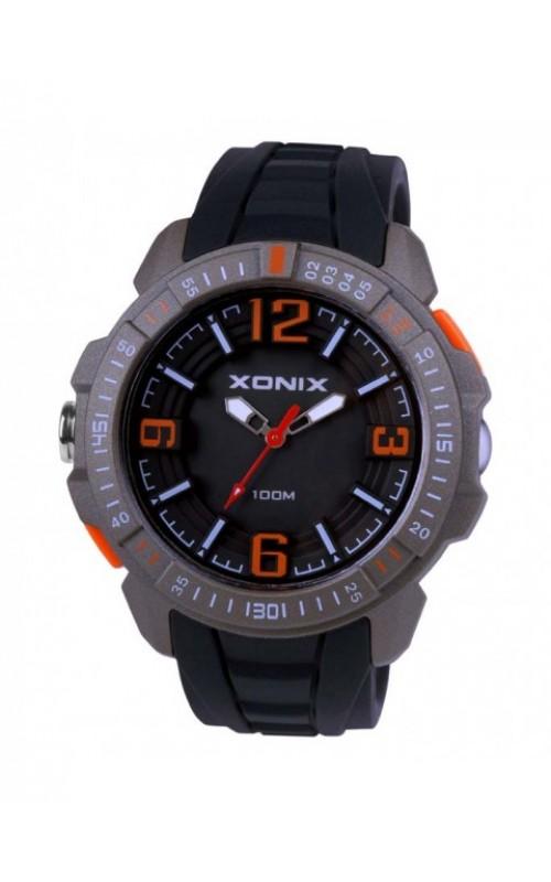 XONIX Black Silicone Strap CAI-004
