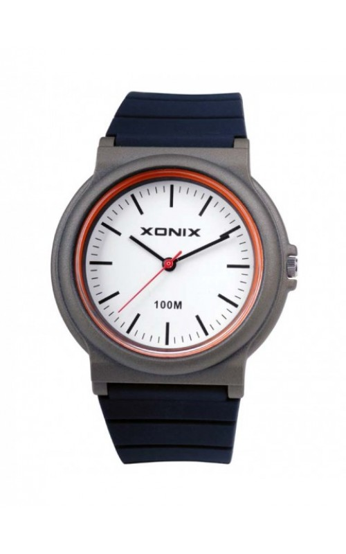 XONIX Black Silicone Strap CAJ-004