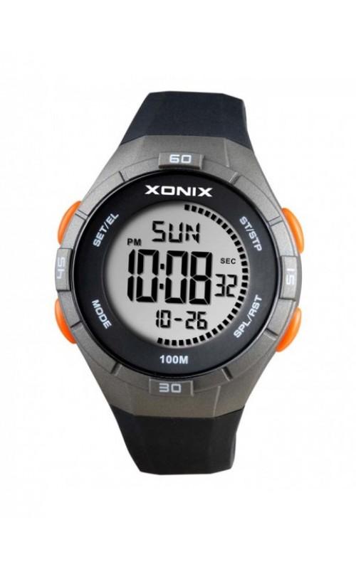 XONIX Black Silicone Strap DAK-004