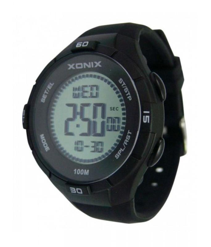 XONIX Black Silicone Strap DAK-006