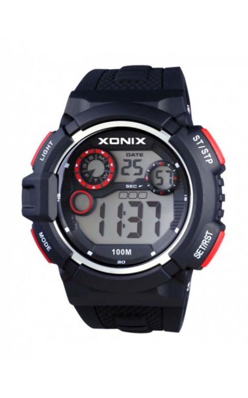 XONIX Black Silicone Strap JV-005