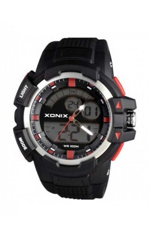 XONIX Black Silicone Strap MW-005