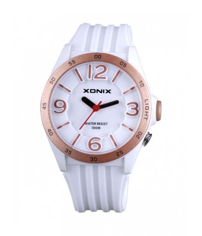 XONIX White Silicone Strap WY-001