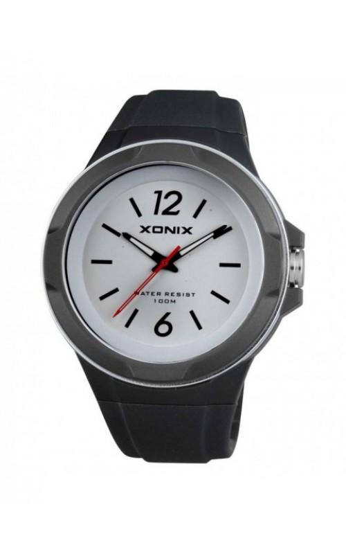 XONIX Black Silicone Strap ZZ-005