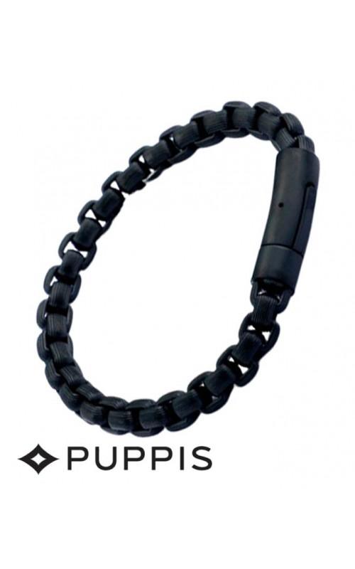 Χειροπέδα Puppis PUB00873B  από Ατσάλι σε μαύρο χρώμα