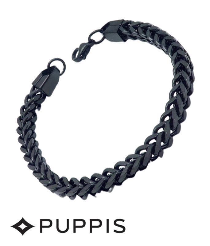 Χειροπέδα Puppis PUB20344B  από Ατσάλι σε μαύρο χρώμα ΧΕΙΡΟΠΕΔΑ - ΑΤΣΑΛΙ
